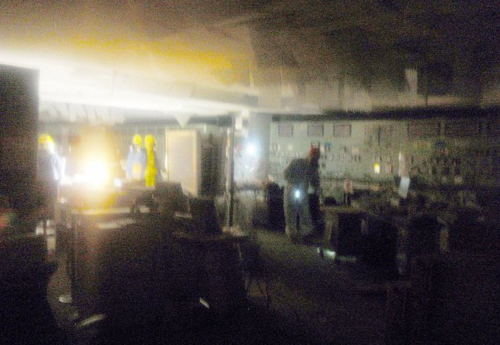 Fukushima Fifty First pictures emerge from inside Japan s stricken nuclear power plant | Mail Online