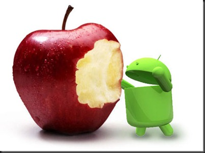 android_eating_apple
